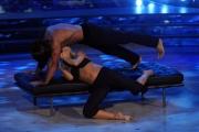 """Roma, Trasmissione """"Ballando con le stelle"""". Pictured : Joe Maska Vera Kinnunen"""
