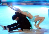 Foto/IPP/Gioia Botteghi 29/11/2014 Roma semifinale di Ballando con le stelle, nella foto: Dayane Mello Samuel Peron