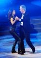 Foto/IPP/Gioia Botteghi 29/11/2014 Roma semifinale di Ballando con le stelle, nella foto: Giorgia Surina con il padre