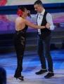 Foto/IPP/Gioia Botteghi 29/11/2014 Roma semifinale di Ballando con le stelle, nella foto: Giusy Versace con il fratello Domenico