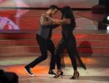 Foto/IPP/Gioia Botteghi 29/11/2014 Roma semifinale di Ballando con le stelle, nella foto: Andrew Howe con la madre Diana