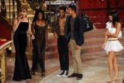 Foto/IPP/Gioia Botteghi 29/11/2014 Roma semifinale di Ballando con le stelle, nella foto: Andrew Howe con la madre Diana ed il fratello