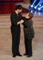 Foto/IPP/Gioia Botteghi 29/11/2014 Roma semifinale di Ballando con le stelle, nella foto: Giulio Berruti con la nonna