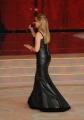 Foto/IPP/Gioia Botteghi 15/11/2014 Roma Puntata di Ballando con le stelle, nella foto: Milly Carlucci con l'abito sadomaso in pelle nera