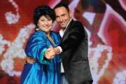 Foto/IPP/Gioia Botteghi 02/10/2014 Roma presentazione di Ballando con le stelle, nella foto: Marisa Laurito con Stefano Oradei