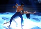Foto/IPP/Gioia Botteghi 15/11/2014 Roma Puntata di Ballando con le stelle, nella foto: Andrew Howe Sara Di Vaira