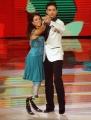 Foto/IPP/Gioia Botteghi 15/11/2014 Roma Puntata di Ballando con le stelle, nella foto: Giusy Versace Raimondo Todaro