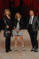Foto/IPP/Gioia Botteghi 04/10/2014 Roma Ballando con le stelle, nella foto: Martina Stoessel ( Violetta) con Milly Carlucci Paolo Belli