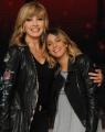 Foto/IPP/Gioia Botteghi 04/10/2014 Roma Ballando con le stelle, nella foto: Martina Stoessel ( Violetta) con Milly Carlucci
