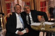 Foto/IPP/Gioia Botteghi 04/10/2014 Roma Ballando con le stelle, nella foto: Sandro Mayer, Massimo Giletti