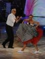 Foto/IPP/Gioia Botteghi 04/10/2014 Roma Ballando con le stelle, nella foto: Teo Teocoli , Natalia Titova