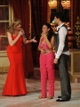 Foto/IPP/Gioia Botteghi 04/10/2014 Roma Ballando con le stelle, nella foto: Giusy Versace, Raimondo Todaro con Milly Carlucci le lacrime