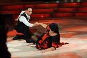 Foto/IPP/Gioia Botteghi 04/10/2014 Roma Ballando con le stelle, nella foto: Marisa Laurito, Stefano Oradei