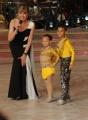 Foto/IPP/Gioia Botteghi 01/11/2014 Roma Ballando con le stelle , nella foto Milly Carlucci con Juan Felipe e Beverly