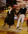 Foto/IPP/Gioia Botteghi 01/11/2014 Roma Ballando con le stelle , nella foto Marisa Laurito Stefano Oradei