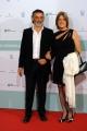 Foto/IPP/Gioia Botteghi 10/06/2014 Roma premio David di Donatello Enrico Loverso con la compagna