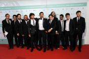 Foto/IPP/Gioia Botteghi 10/06/2014 Roma premio David di Donatello tutto il cast di Smetto quando voglio