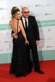 Foto/IPP/Gioia Botteghi 10/06/2014 Roma premio David di Donatello Virzì con la moglie