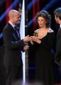 Foto/IPP/Gioia Botteghi 10/06/2014 Roma premio David di Donatello Sophia lore con il figlio Edoardo Ponti