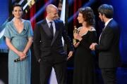 Foto/IPP/Gioia Botteghi 10/06/2014 Roma premio David di Donatello Sophia Lore con il figlio Edoardo