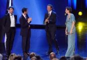Foto/IPP/Gioia Botteghi 10/06/2014 Roma premio David di Donatello Andrea Occhipinti premio speciale