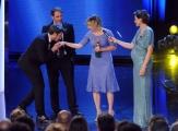Foto/IPP/Gioia Botteghi 10/06/2014 Roma premio David di Donatello migliore attrice Valeria Bruni Tedeschi