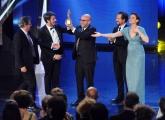 Foto/IPP/Gioia Botteghi 10/06/2014 Roma premio David di Donatello Paolo Virzì per il miglior film