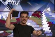 Foto/IPP/Gioia Botteghi 13/03/2015 Roma Stefano Simmaco il vincitore di Forte forte forte