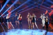 Foto/IPP/Gioia Botteghi 30/01/2015 Roma terza puntata di Forte forte forte, nella foto le concorrenti