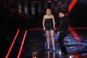 Foto/IPP/Gioia Botteghi 30/01/2015 Roma terza puntata di Forte forte forte, nella foto i concorrenti Vittoria e Don Cash