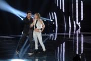 Foto/IPP/Gioia Botteghi 30/01/2015 Roma terza puntata di Forte forte forte, nella foto i concorrenti Maria Elena e Stefano