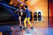 Foto/IPP/Gioia Botteghi 30/01/2015 Roma terza puntata di Forte forte forte, nella foto i concorrenti Rosa e Marco