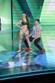 Foto/IPP/Gioia Botteghi 30/01/2015 Roma terza puntata di Forte forte forte, nella foto i concorrenti Gabrio ed Emanuela