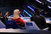 Foto/IPP/Gioia Botteghi 30/01/2015 Roma terza puntata di Forte forte forte, nella foto la giuria