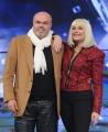 Foto/IPP/Gioia Botteghi 08/01/2015 Roma  Presentazione del programma di rai uno Forte forte forte, nella foto: Raffaella Carrà con Sergio Japino