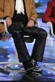 Foto/IPP/Gioia Botteghi 08/01/2015 Roma  Presentazione del programma di rai uno Forte forte forte, nella foto:  Sergio Japino di recente operato al piede sinistro come si nota dal tutore indossato