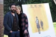 Foto/IPP/Gioia Botteghi 09/01/2015 Roma  presentazione del film HUNGRY HEARTS, nella foto il regista Saverio Costanzo e Alba Rohrwacher