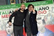 Foto/IPP/Gioia Botteghi 22/01/2015 Roma presentazione del film Italiano medio, nella foto il regista e attore protagonista MARCELLO MACCHIA in arte MACCIO CAPATONDA con il produttore Marco Belardi