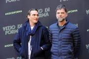 Foto/IPP/Gioia Botteghi 26/01/2015 Roma presentazione del film VIZIO DI FORMA nella foto: Paul Thomas Anderson (regista) Joaquin Phoenix (interprete)