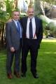 Foto/IPP/Gioia Botteghi 27/01/2015 Roma presentazione del programma di rai due SIGNORI DEL VINO, nella foto: il direttore del tg2 Marcello Masi e Rocco Tolfa