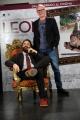 Foto/IPP/Gioia Botteghi 29/01/2015 Roma presentazione del film LEONI, nella foto Neri Marcorè con il regista Pietro Parolin