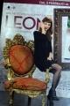 Foto/IPP/Gioia Botteghi 29/01/2015 Roma presentazione del film LEONI, nella foto ANNA DALTON