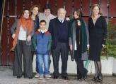 Foto/IPP/Gioia Botteghi 30/01/2015 Roma presentazione della fiction di rai uno CON IL SOLE NEGLI OCCHI, nella foto: il cast con Pupi Avati