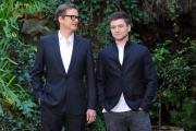 Foto/IPP/Gioia Botteghi 02/02/2015 Roma presentazione del film Kingsman, nella foto: Colin Firth, Taron Egerton
