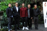 Foto/IPP/Gioia Botteghi 02/02/2015 Roma presentazione del film Kingsman, nella foto: Colin Firth, Taron Egerton e i Take That,