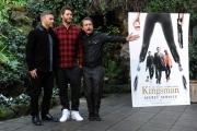 Foto/IPP/Gioia Botteghi 02/02/2015 Roma presentazione del film Kingsman, nella foto:  i Take That,