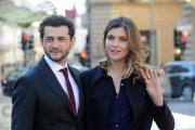 Foto/IPP/Gioia Botteghi 02/02/2015 Roma presentazione della fiction di raiuno L'Oriana, nella foto: Vittoria Puccini e Vinicio Marchionne
