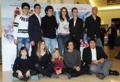 Foto/IPP/Gioia Botteghi 04/02/2015 Roma presentazione della fiction di rai uno Braccialetti rossi 2, nella foto: Tutti i ragazzi