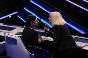Foto/IPP/Gioia Botteghi 20/02/2015 Roma puntata di forte forte forte nella foto Raffaella Carrà con Asia Argento