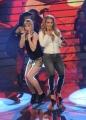 Foto/IPP/Gioia Botteghi 20/02/2015 Roma puntata di forte forte forte ospite Anastacia con Vittoria